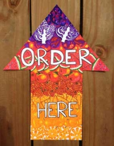 order-here-food-arrow